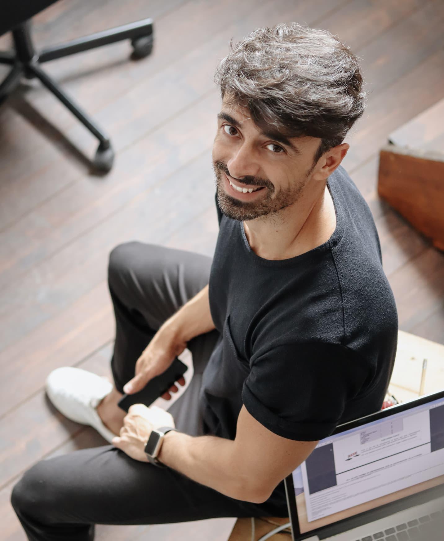 Tony Balbi ufficio Roma